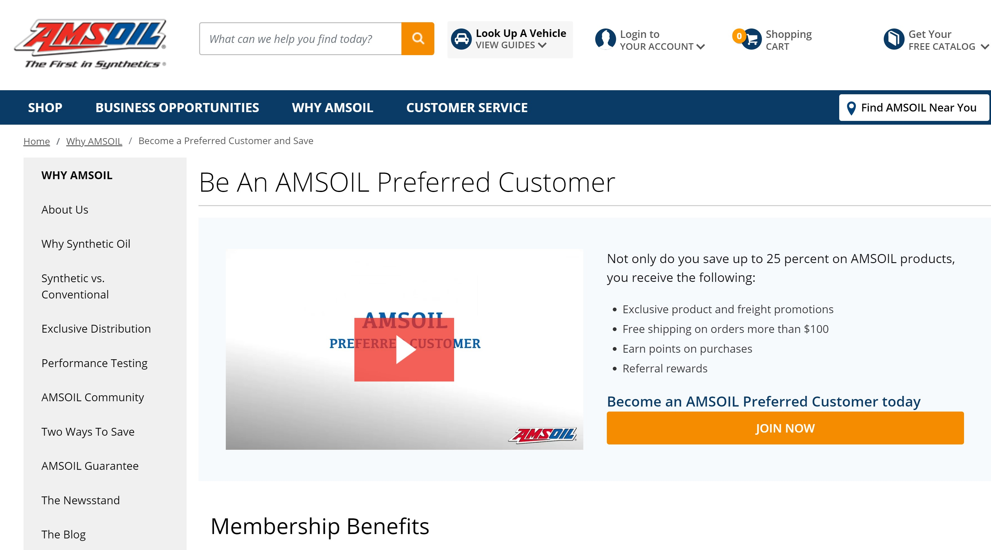 25% - 30% Off AMSOIL + FREE Shipping + Free Mailed AMSOIL Magazine