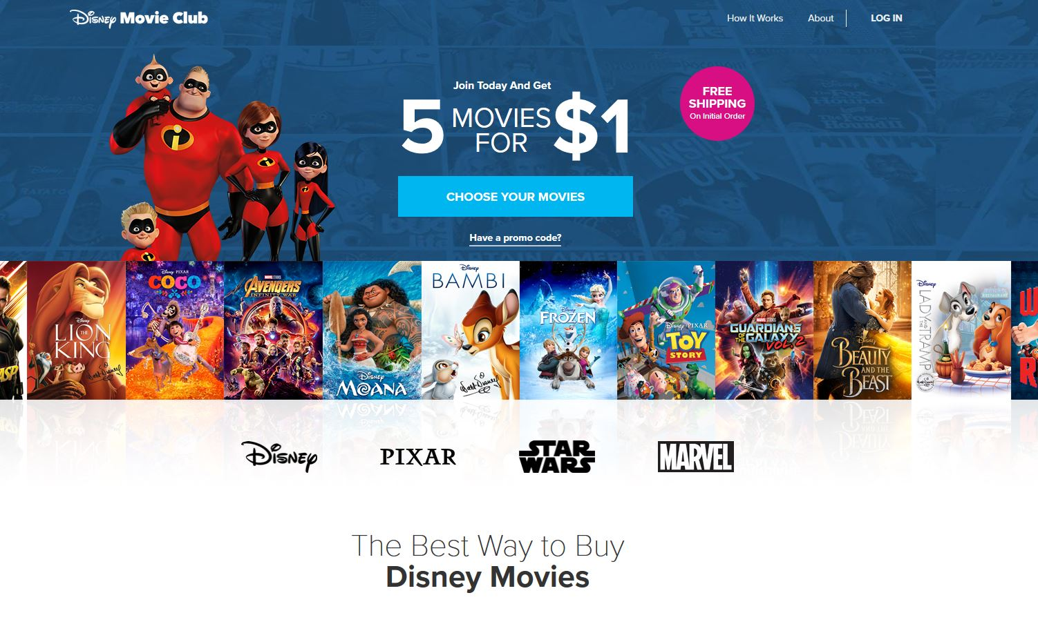 Disney Movie Club Refer a Friend