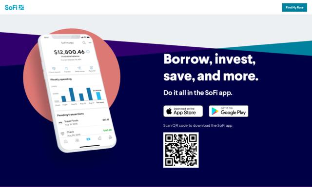 1000 Rewards Points ($10) When You Download The Sofi App