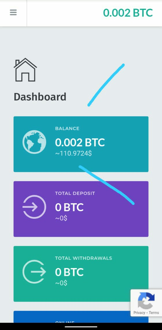 Get 100$ worth of bitcoin in your account balance if you sign up for free