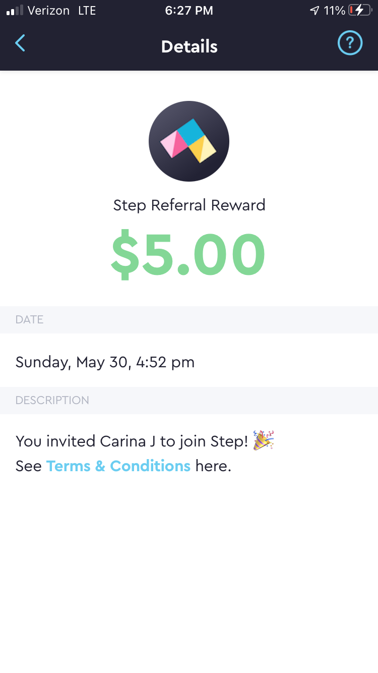 Sign Up For Step and Receive Instant $5