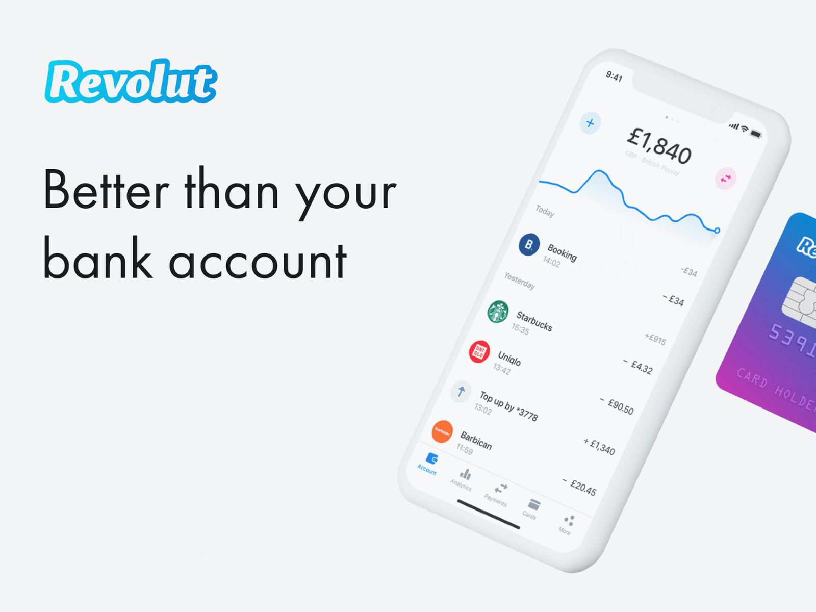 Receive 13 GBP Cash Absolutely Free When You Join Revolut Today! Sign Up To Receive Your Cash In Minutes!