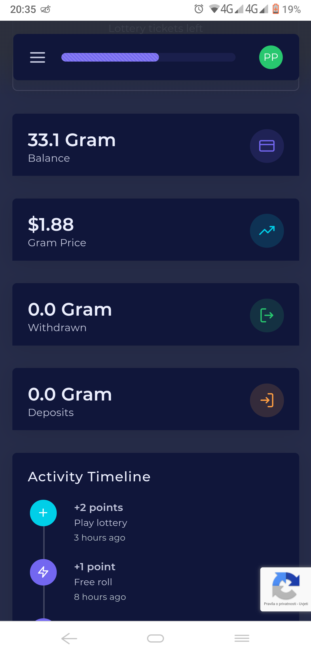 Get 5 gram for every referral price of gram is $2