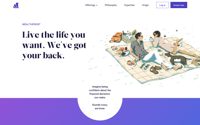 Get $15,000 managed for FREE at Wealthfront