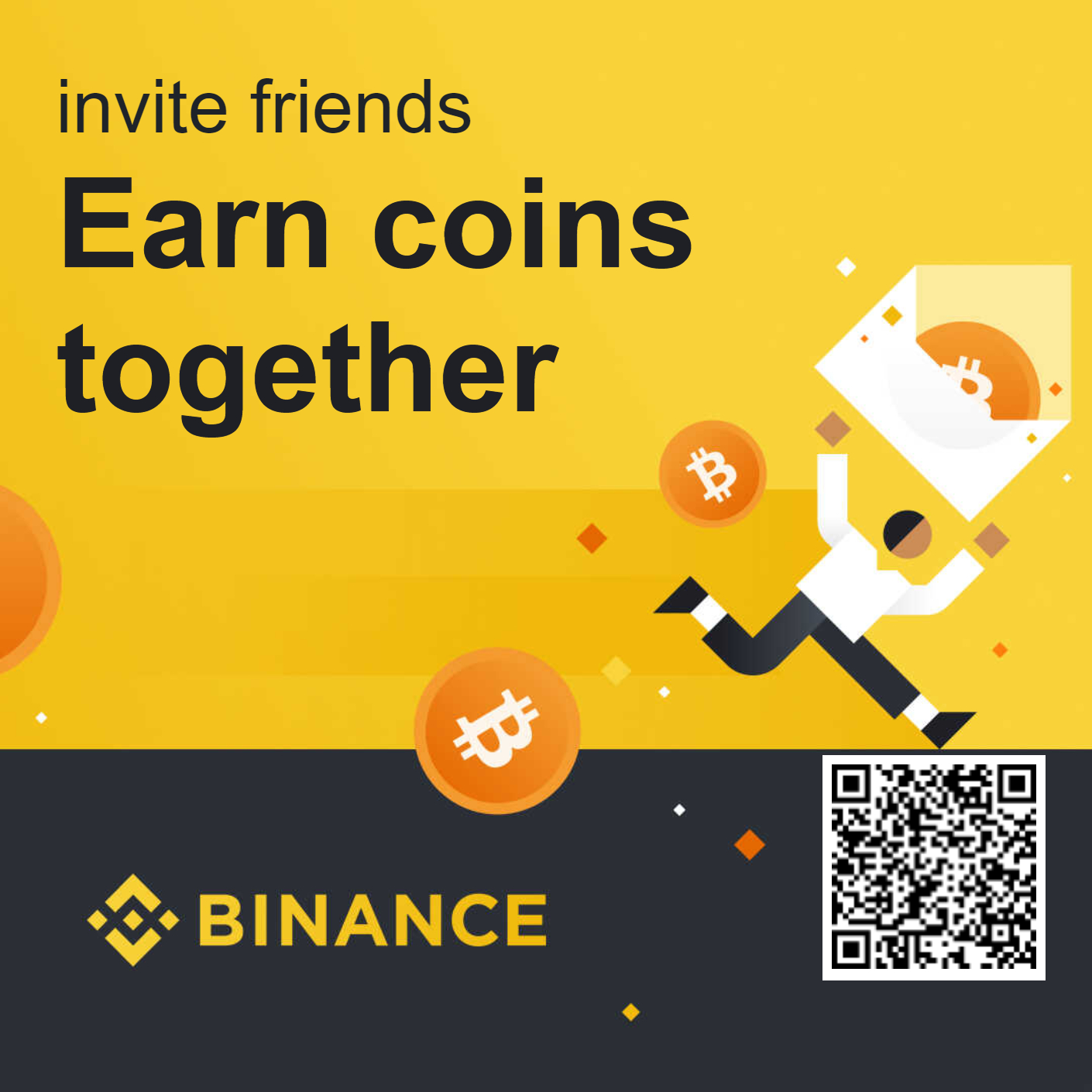 Earn up to 40% commission every time your friends make a trade on Binance.
