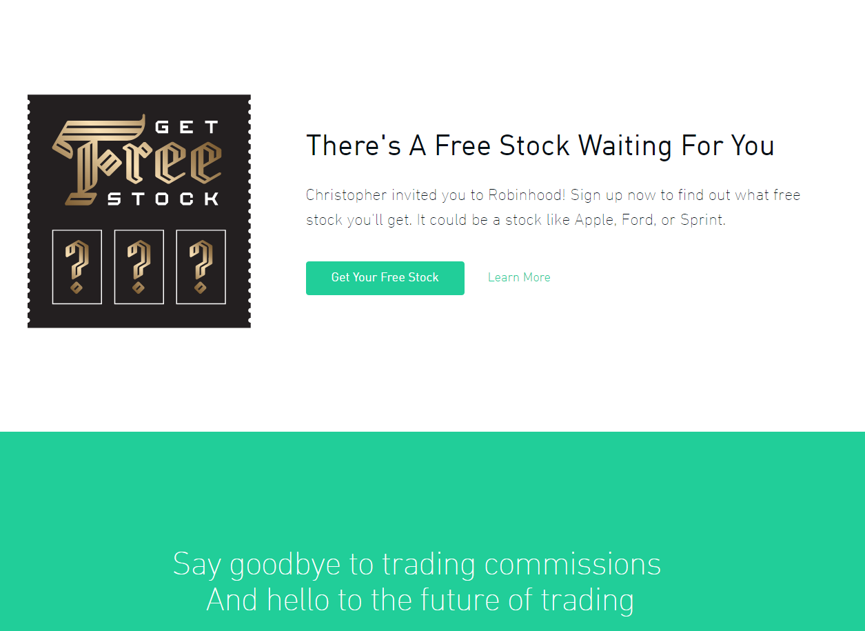 Referral Program Free Stock!
