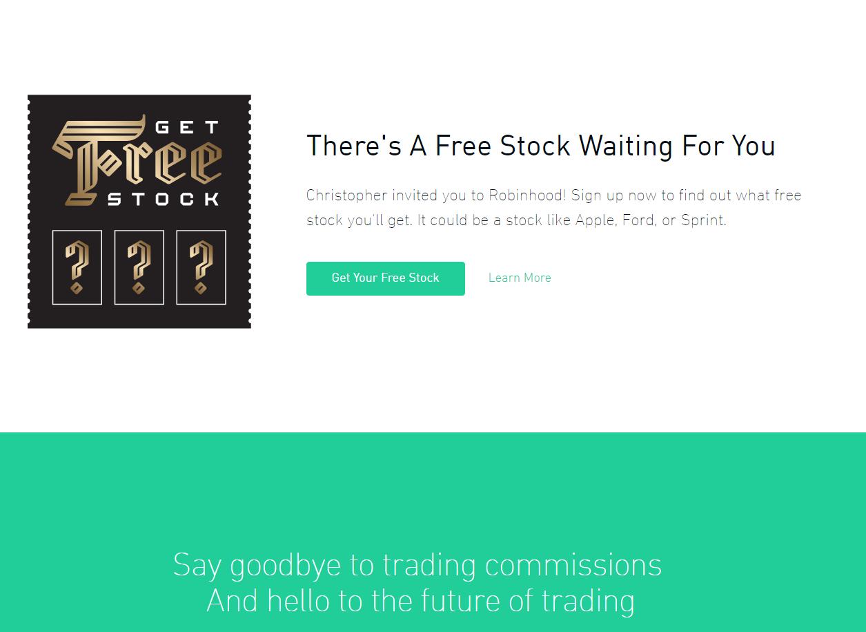 Referral Program Free Stock!