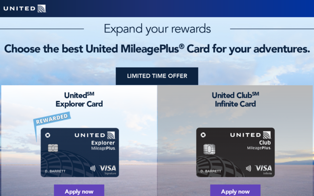 Earn 60000 United Miles with the Chase United Card