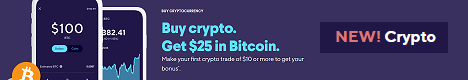 Get $25 in Bitcoin when you make your first $10 crypto trade!