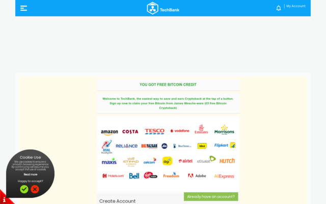 Get $30 Free bitcoin for each referral plus cashback on all purchases