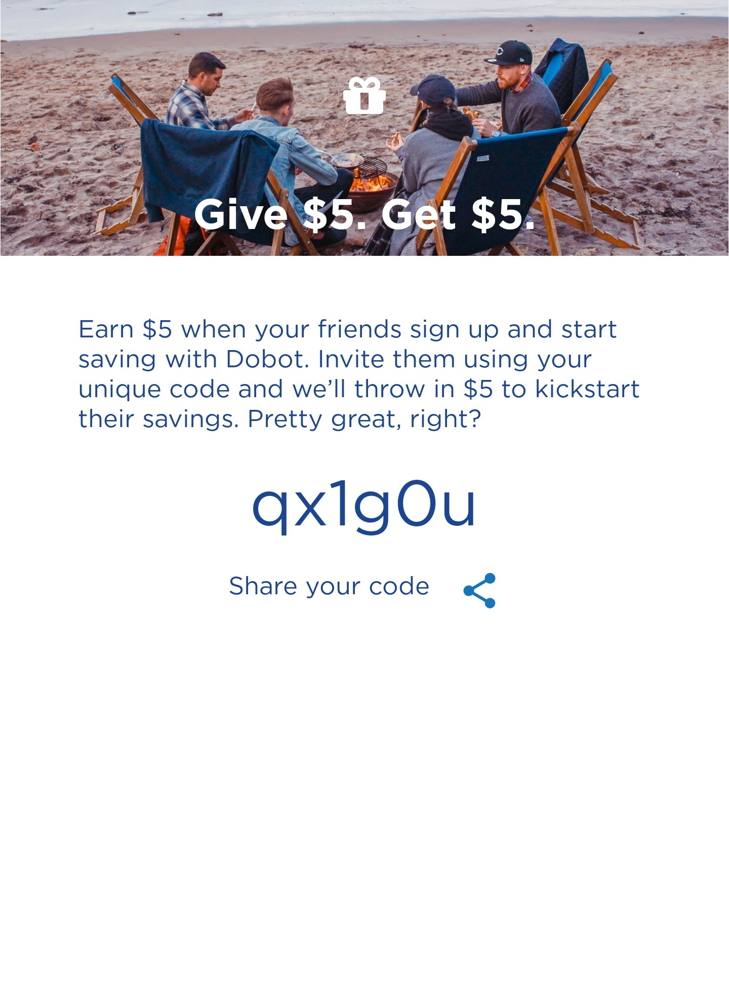 Get $5 if you signup for Dobot