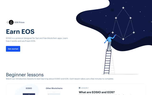 Get up to $50 EOS for free!