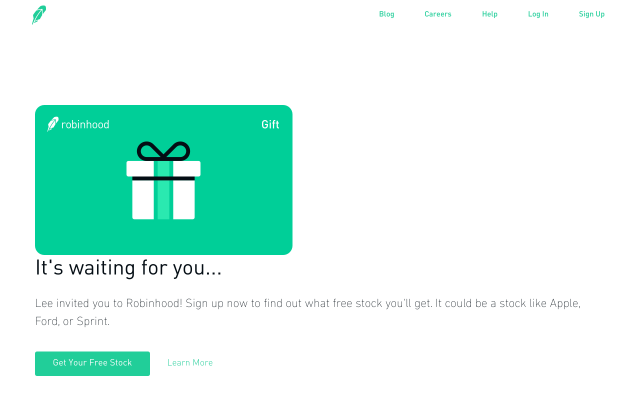 Sign Up And Get a WHOLE FREE STOCK share like Apple or Microsoft