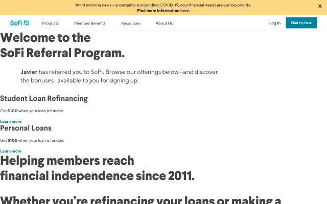 $100 Cash Back When you Refinance Your Student Loans With So-Fi