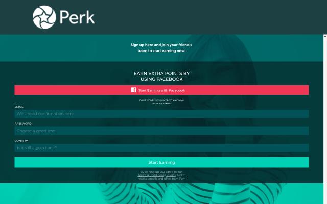 Perk Refer a Friend (Referral Bonus May Vary Over Time)