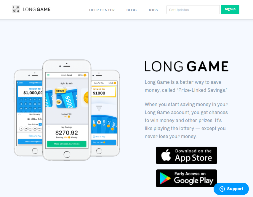 Join LONG Game today and get 1000 COINS!