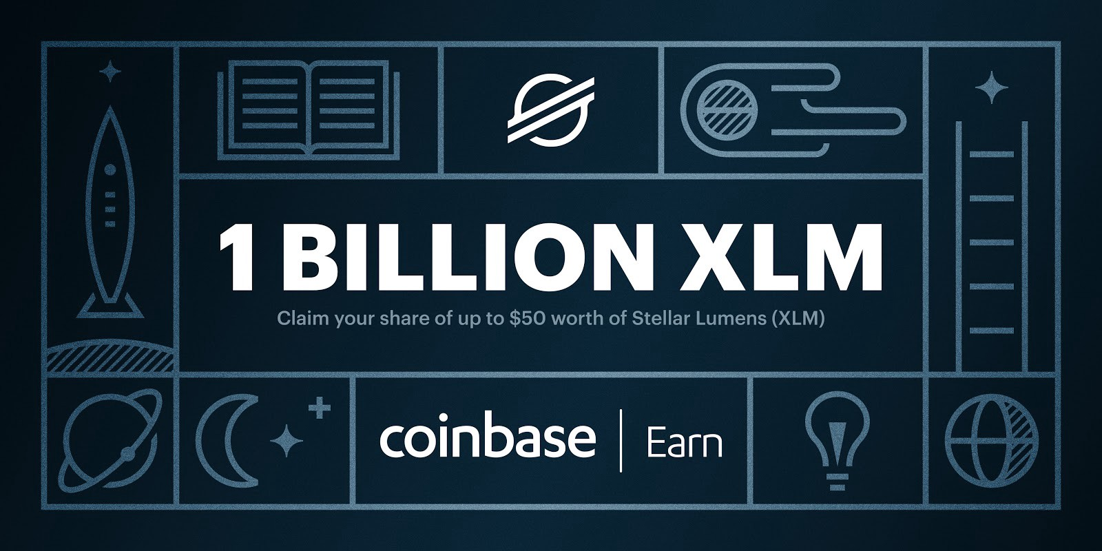 Earn $10 in Stellar Lumens (XLM) coins by watching 5 short videos (about 15 min total), and another $40 in XLM for additional referrals.