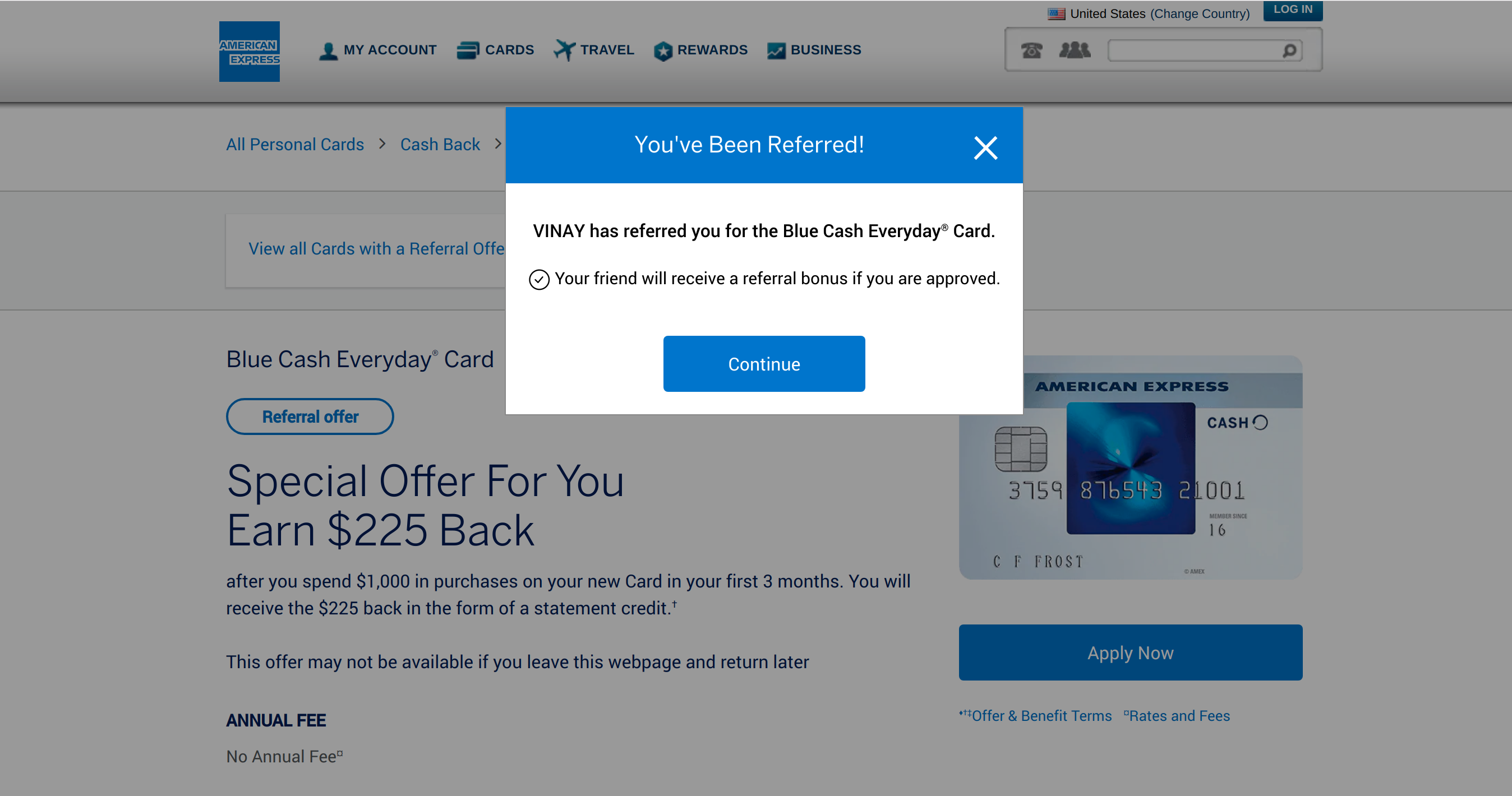 $150 CASHBACK AMERICAN EXPRESS CREDIT CARD !