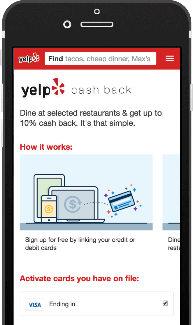 Get $5 off your first delivery on Yelp!