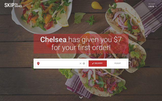 Get $7 Off At SkipTheDishes