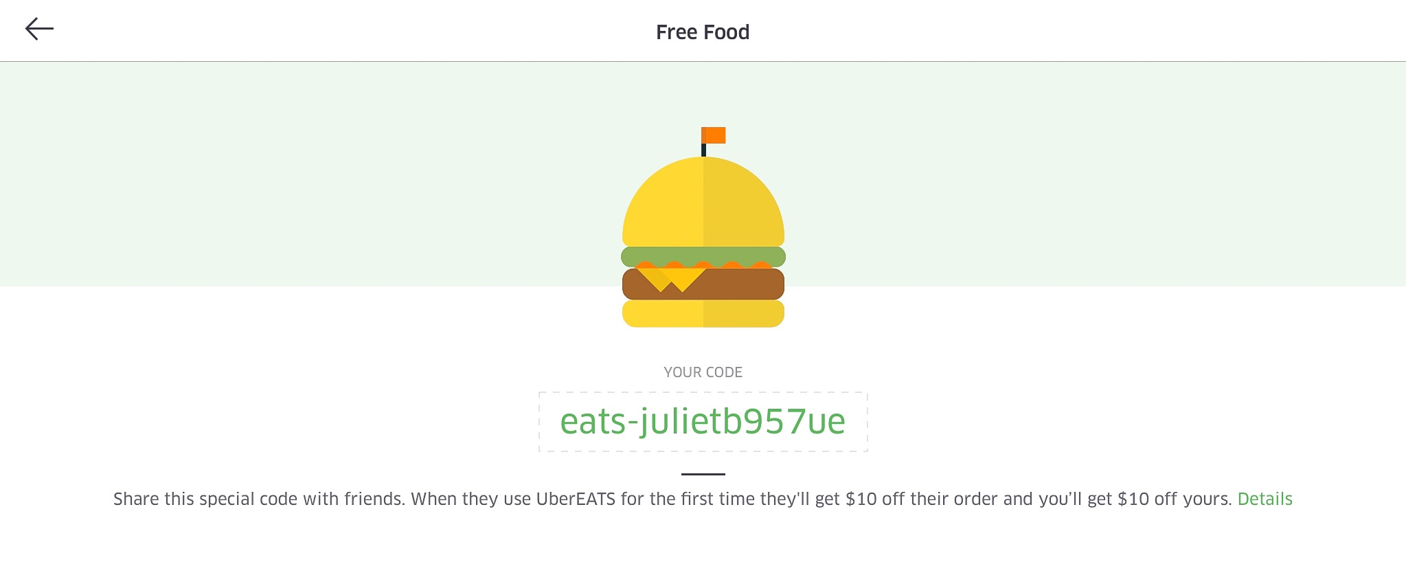 Free Food for Joining UberEATS