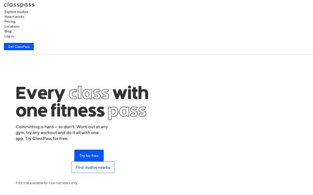 Get $40 off any ClassPass plan!