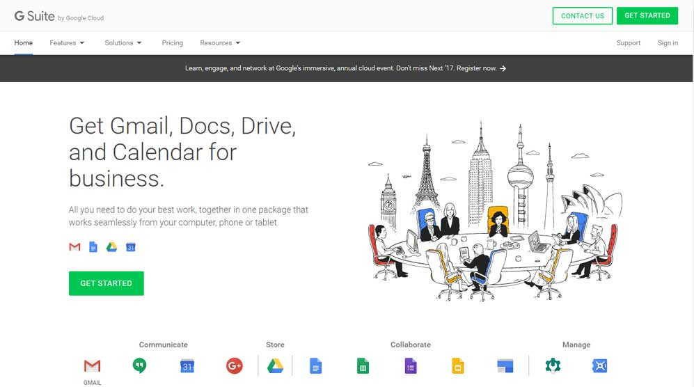 20% Off One Year of G Suite by Google