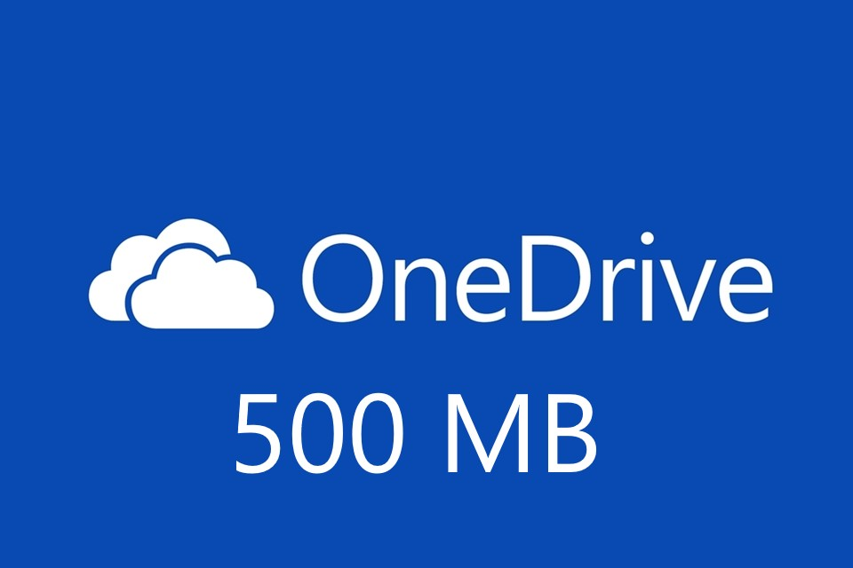 Sign up to OneDrive and get 0.5 GB storage using my referral link