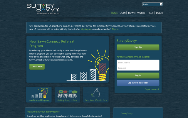 SurveySavvy - Take part in Market Research studies paying upwards of $50