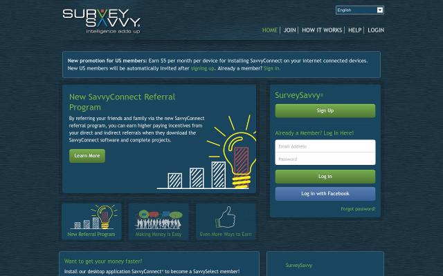 SurveySavvy - Take part in Market Research studies paying upwards of $50