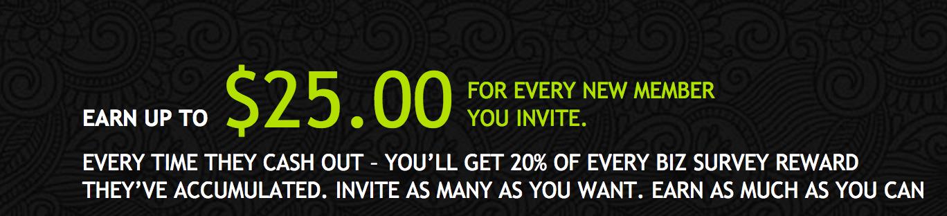 Earn 20% of each friends earnings.