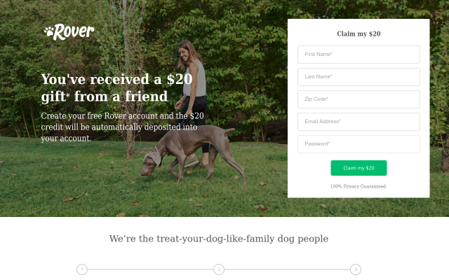 Get $20 Off first booking - Dog walk, Pet sitting and More!