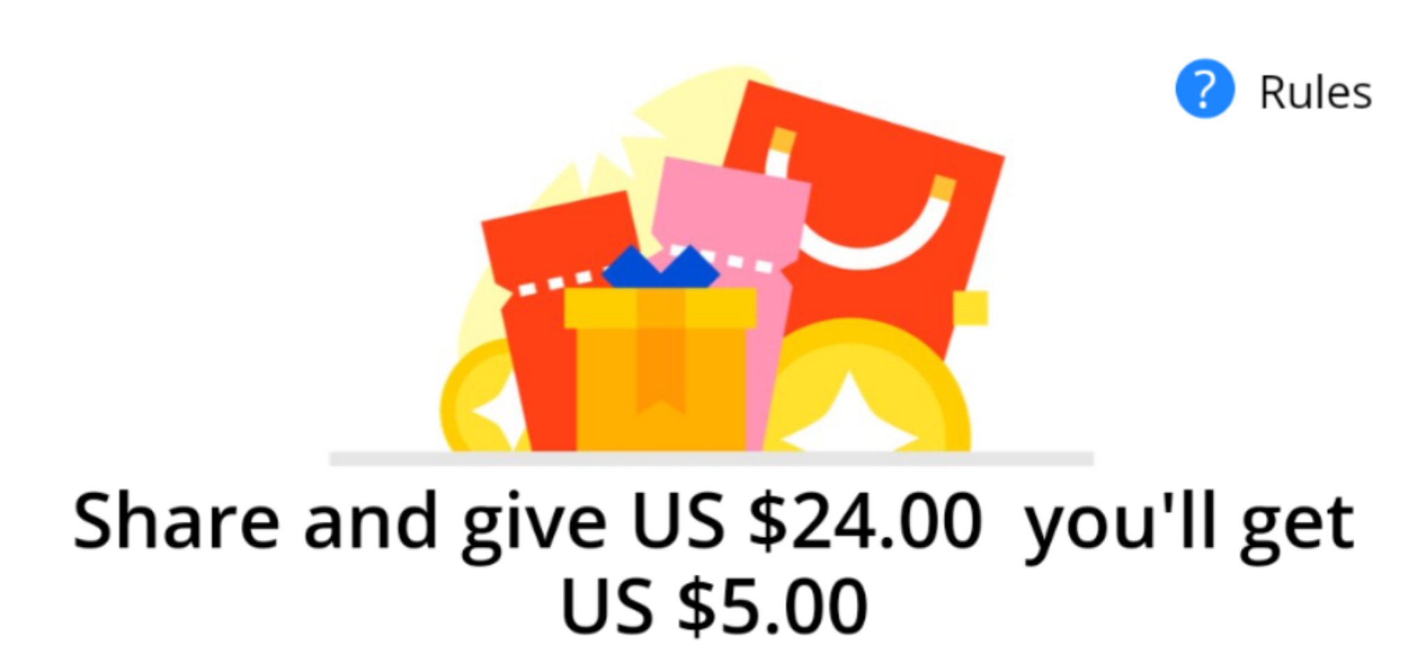 Get $24 to spend at AliExpress by using my referral code!