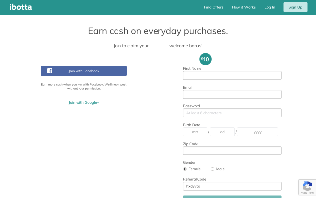 Get $10 for signing up instant PayPal cash out