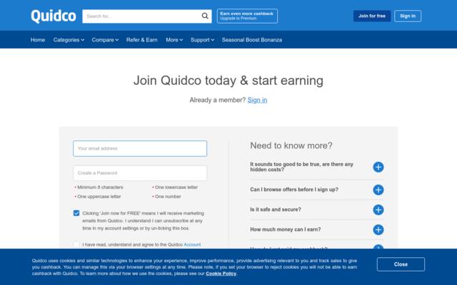 Get Quidco 5 Pound Sign up bonus