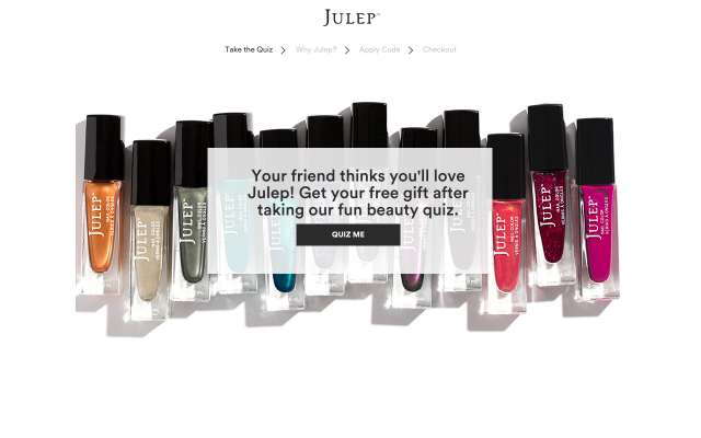 Julep -Get Free Gift at Checkout using my referral link