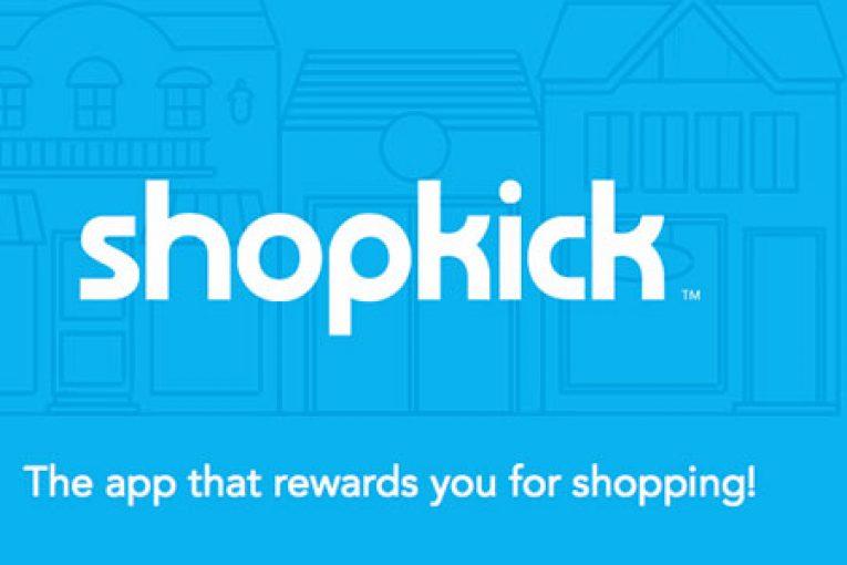 Get 250 sign-up kicks on Shopkick!