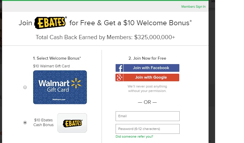 Get 10$ Sign-up Bonus