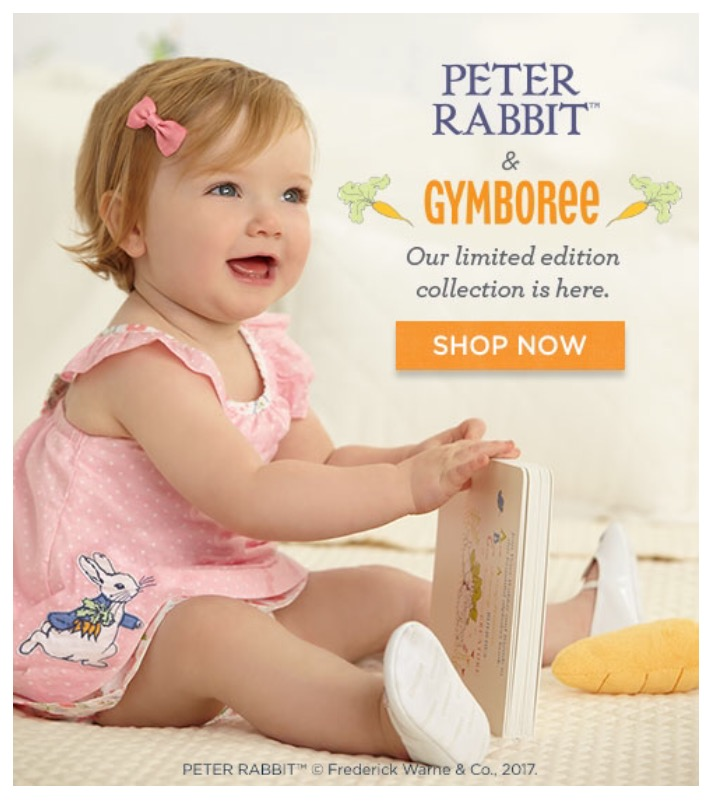 Gymboree Coupon get 25% off your First Purchase using my referral link