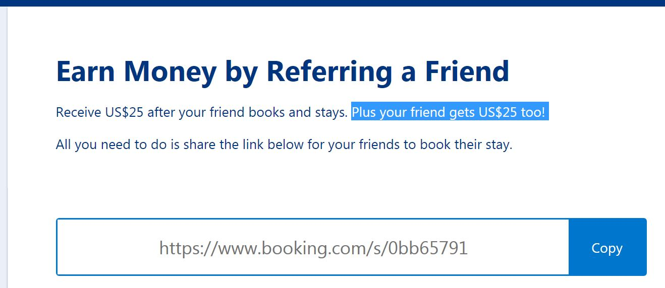 Refer a Friend link - $25  USD reward