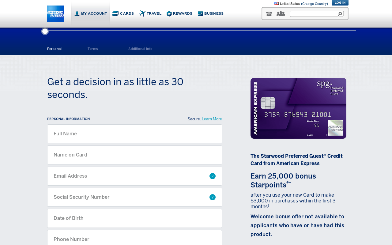 Earn 25,000 bonus Starpoints if you signup through my link