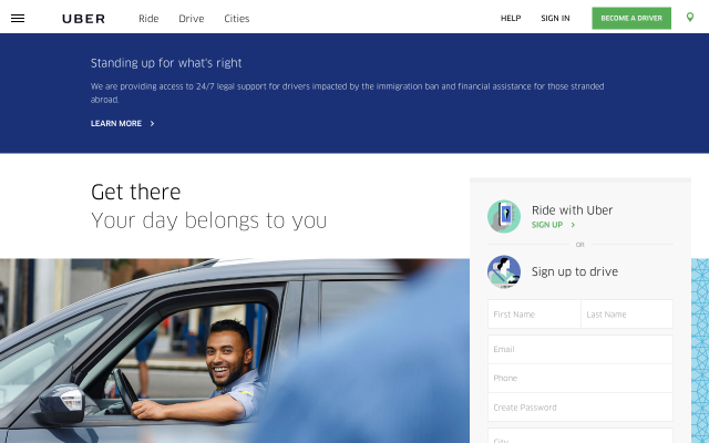 Uber - Get Your First Ride for Free using my code s3nmj